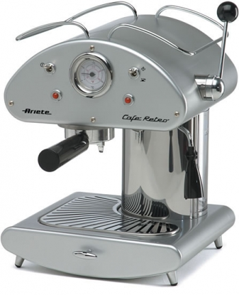 Cs, CAREservice 1385-sil-1.jpg-nggid042213-ngg0dyn-670x430-00f0w010c010r110f110r010t010 ARIETE | Macchina caffè espresso - Cafè Retrò Silver Ariete Coffee  macchina espresso caffè Cafè Retrò Silver Ariete