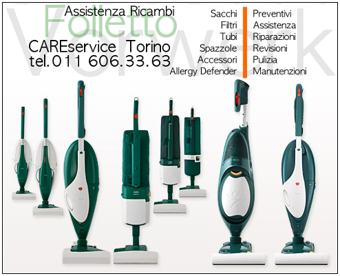 Cs, CAREservice folletto-banner-2 VORWERK | Kobold Folletto – Bastone telescopico [Cod.04255] Folletto VK122  Vorwerk Kobold Folletto