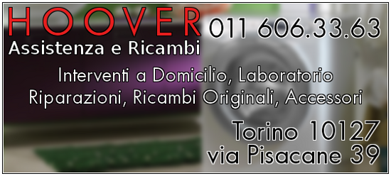 Cs, CAREservice hoover-banner-1 HOOVER | FILTRO MOTORE [S63] Aspira Hoover  S63 09200243