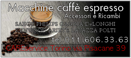 Cs, CAREservice macchine-espresso-caffe-banner-1 ARIETE | AT4056002800 - Portafiltro Nuova Serie Ariete Coffee AT4056002800