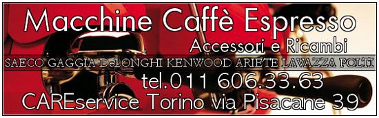 Cs, CAREservice macchine-espresso-caffe-banner-2 ARIETE | AT4056002800 - Portafiltro Nuova Serie Ariete Coffee AT4056002800
