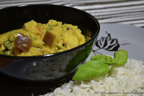 Verdure al curry