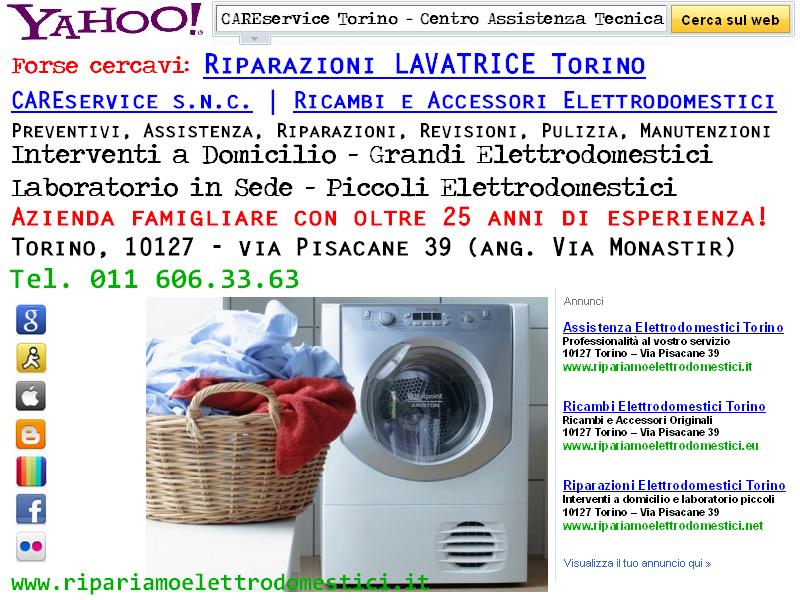 Cs, CAREservice riparazioni-lavatrice ASSISTENZA LAVATRICE TORINO Assistenza Elettrodomestici  lavatrice elettrodomestici assistenza