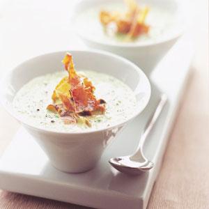 Cs, CAREservice zuppa-di-piselli-primavera-pancetta-e-menta KENWOOD TRIBLADE | Ricette - Zuppa di piselli primavera, pancetta e menta Ricette  ricette kenwood triblade Kenwood