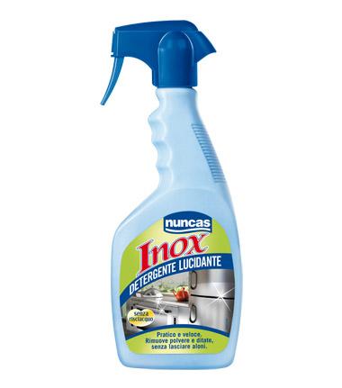 Cs, CAREservice inox_detergente_lucidante NUNCAS | Superfici - Detergenti Piani Lavoro [INOX DETERGENTE LUCIDANTE] Nuncas  Inox Detergente Lucidante
