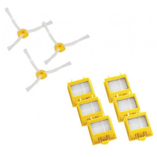 Cs, CAREservice kit-filtri-kit-spazzole-laterali-toomba-700 iROBOT | Roomba 700 Series – Kit Filtri E Spazzole Laterali iRobot Roomba 700 Series  Roomba iRobot