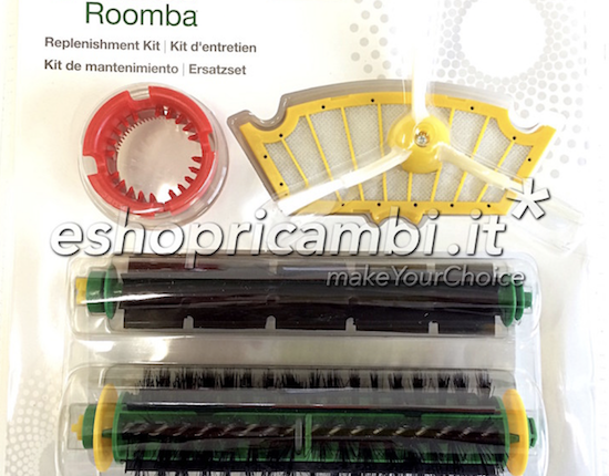 Cs, CAREservice 12980-550x430 iROBOT | Roomba 500 Series – Kit Rinnovo e Manutenzione iRobot Roomba 500 Series  82404