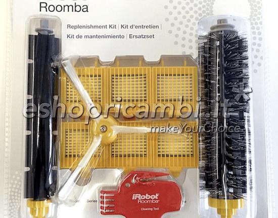 Cs, CAREservice ACC225-550x430 iROBOT | Roomba 700 Series – Kit Rinnovo e Manutenzione iRobot Roomba 700 Series 21936