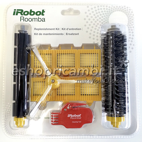 Cs, CAREservice ACC225 iROBOT | Roomba 700 Series – Kit Rinnovo e Manutenzione iRobot Roomba 700 Series  21936
