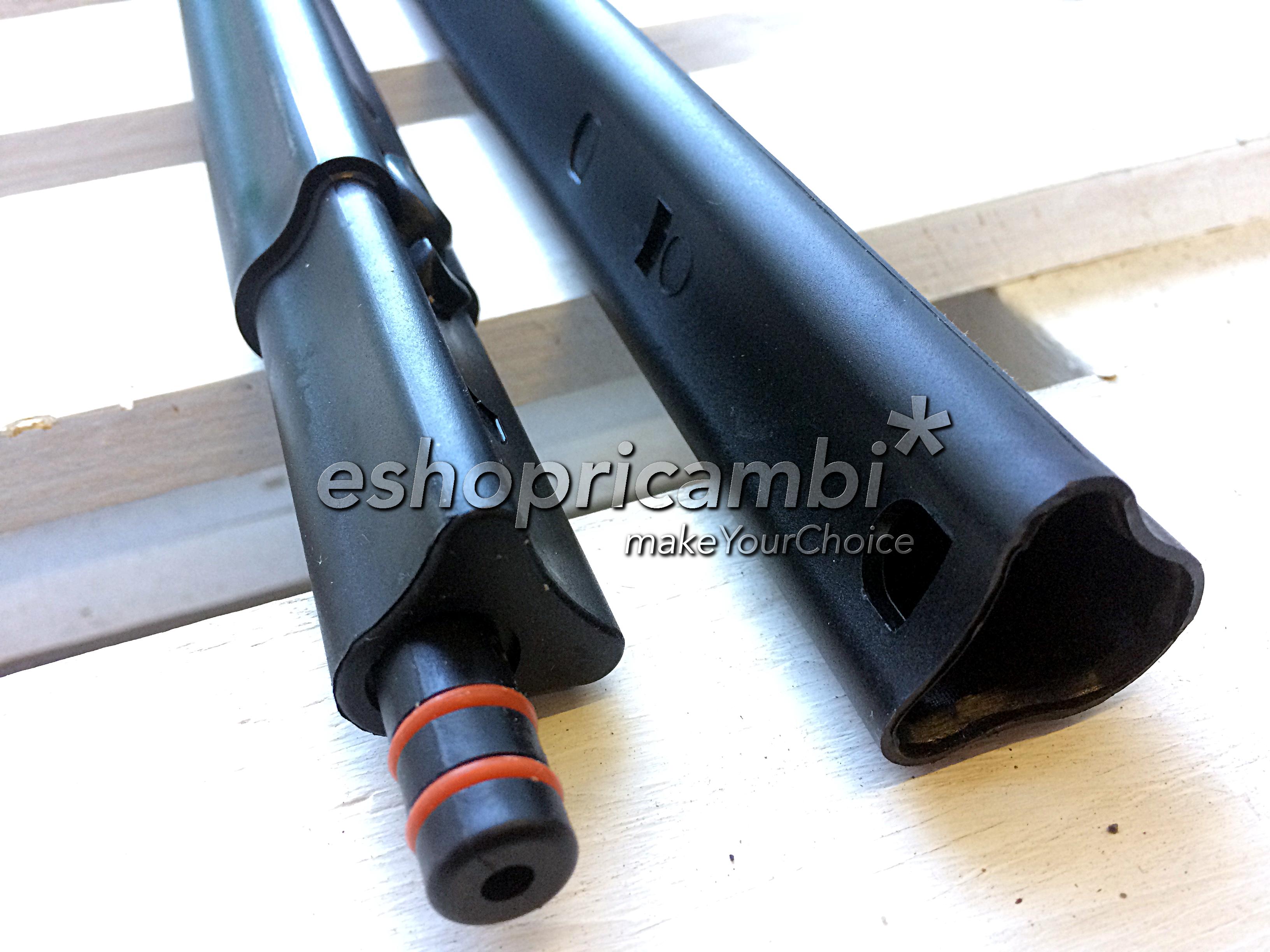 Cs, CAREservice M0005608-D POLTI | Kit Tubi Prolunga per Vaporetto Handy, Pocket Aspira Polti Pulizia  M0005608