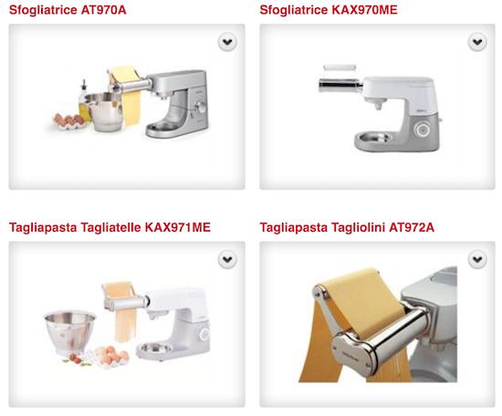 Cs, CAREservice sfogliatrice-e-tagliapasta Kenwood Kitchen Machines – Accessories & Attachments - Sfogliatrice e Tagliapasta [video] Accessories & Attachments Kenwood  tagliapasta sfogliatrice