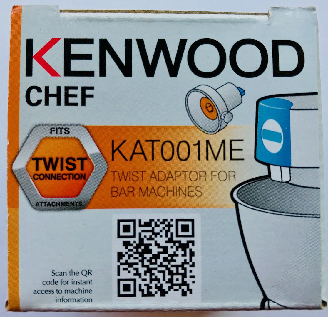 Cs, CAREservice twist-to-bar-a Kenwood Kitchen Machines – Accessories & Attachments – Chef Twist To Bar Adapter KAT001ME [video] Accessories & Attachments Kenwood  KAT002ME KAT001ME