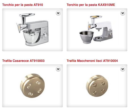 Cs, CAREservice torchio-pasta Kenwood Kitchen Machines – Accessories & Attachments – Torchio per la Pasta [video] Accessories & Attachments Kenwood  torchio pasta