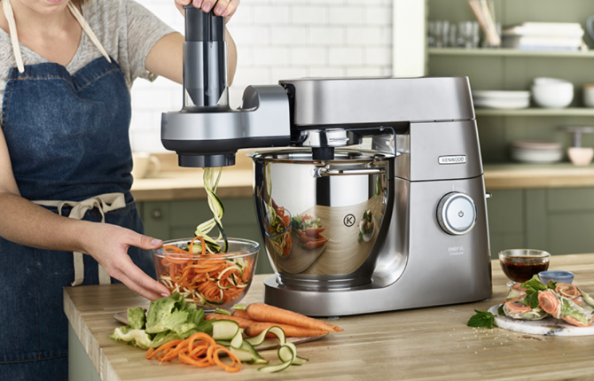 Cs, CAREservice AW20010015-670x430 Kenwood Kitchen Machines – Accessories & Attachments – Spiralizer [video] Accessories & Attachments Kenwood spiralizer